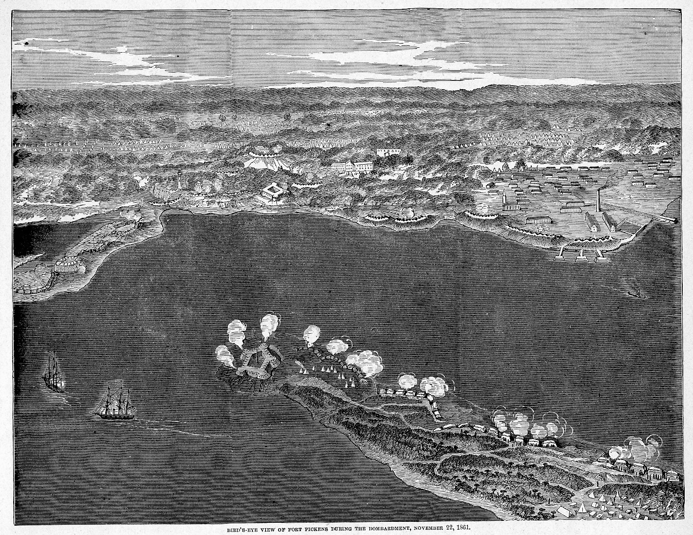 lincolns limited options regarding the demand for the return of fort sumter and fort pickens Pickens's messenger arrived with a demand for fort sumter's surrender he would then reject it, ending the armistice honorably and freeing him to proceed with reinforcement plans—if the political situation permitted .