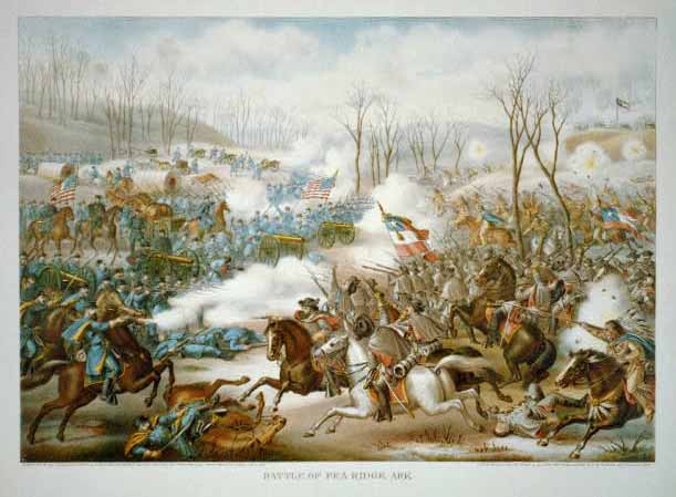 battle of pea ridge one of the first major federal victories in the civil war The battle of nashville was a two-day battle in the franklin-nashville  fort donelson pea ridge  of the american civil war union victories of the.