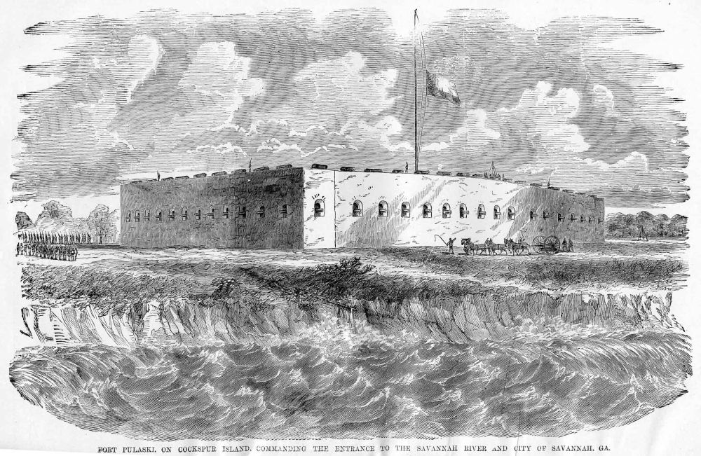 1862 April 16th: Fort Pulaski Captured (2/2)