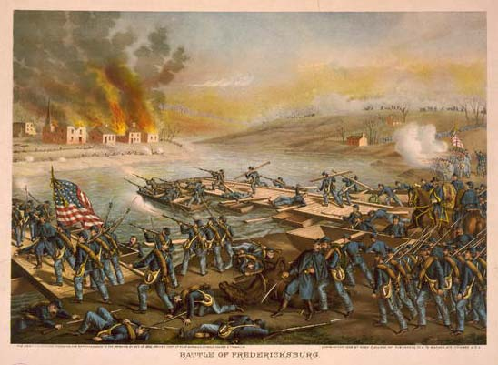 Battle of Fredericksburg, by Kurz & Allison (see footnote 1)