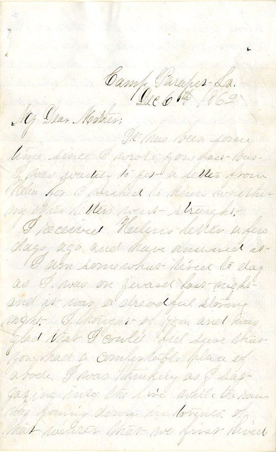 Flint letter 1862-12-6