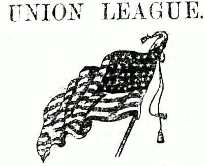 Union Union and flag, 1863 May, fixed