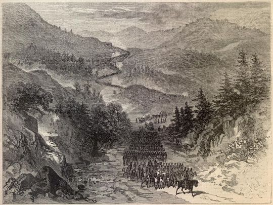 General Burnside's Army Occupying the Cumberland Gap (see footnote x)