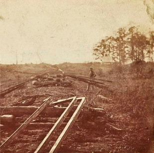 """How Sherman's Boys Fixed the Railroad,"" from the Library of Congress"