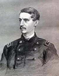 """The Late Colonel Ulric Dahlgren,"" from Harper's Weekly"