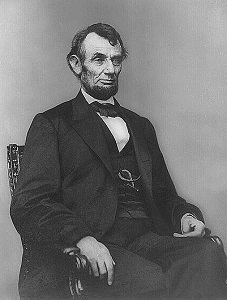 Abraham Lincoln, February 4, 1864, from the Library of Congress