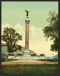 Battle Monument, U.S. Military Academy, from the Library of Congress