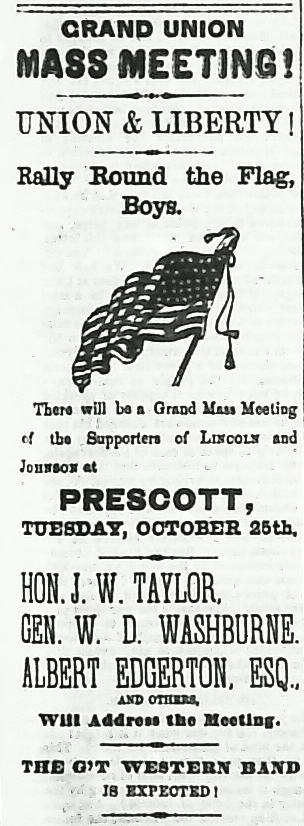 Grand Union Mass Mtg, 10-22-64