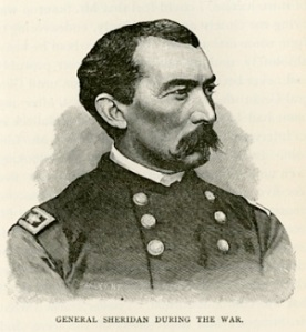 """General Sheridan During the War,"" from Sheridan's Personal Memories"