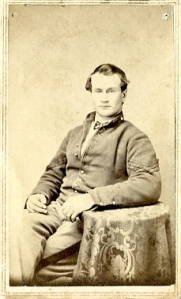 Jerry Flint in 1863 or 1864