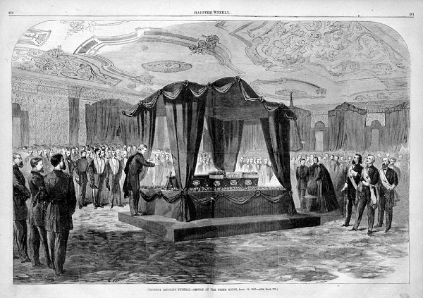 Lincoln Lying in State, from