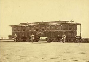 Lincoln's funeral car