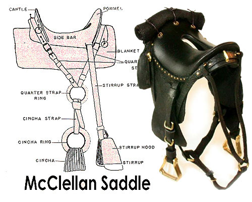 mcclellan saddle