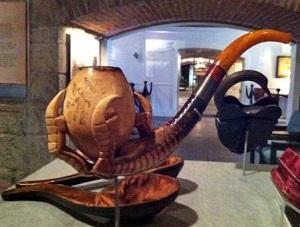 Jefferson Davis' pipe